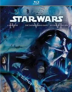 Star Wars Original Trilogy: Episodes IV,V,VI (Blu-ray, 2011 3-Disc) BRAND NEW!