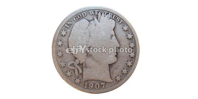 1907, Barber Half Dollar