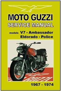 moto guzzi v7 workshop manual