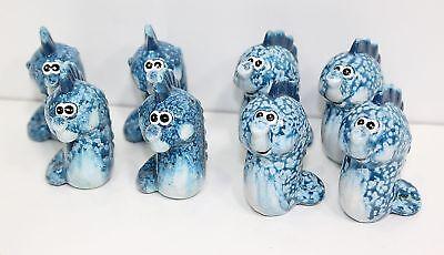 JOB LOT NEW 8 x Porcelain / China Seahorse Figures FREE P&P