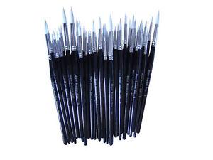 Bulk paint brushes ebay for Wholesale craft paint brushes