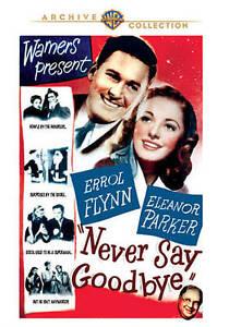 Never Say Goodbye DVD Region ALL, NTSC