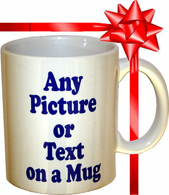 PERSONALISED MUG - With your Photo and Text