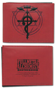FullMetal Alchemist Brotherhood Cross of Flamel Wallet anime GE-3059