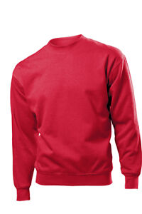 Hanes Mens 80% Cotton Sweatshirt Sweater Top Jumper NEW