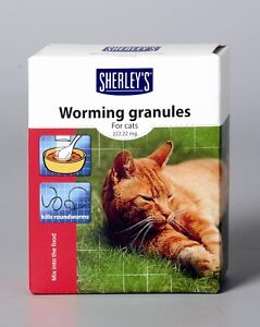 Beaphar Worming Wormer Granules Powder for Cats Cat Dewomer New Value