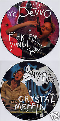 "MC DEVVO/SHADY PIEZ F*ck Em Yung 7"" vinyl picture disc NEW"