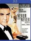 Never Say Never Again (Blu-ray Disc, 2011, Canadian; French)
