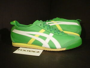Asics-Ontsuka-Tiger-MEXICO-66-HK60F-Green-Yellow-DS-8