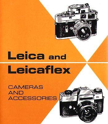 Instructions and guides 1968 LEICA CAMERA