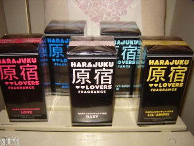 ⭐️harajuku Perfume Set⭐️love Music Baby Angel⭐️5 X 30ml Plus Towel And Bag⭐️