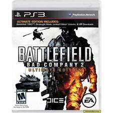 Battlefield Bad Company 2 Limited Edition Factory Sealed Sony Playstation 3 BD3