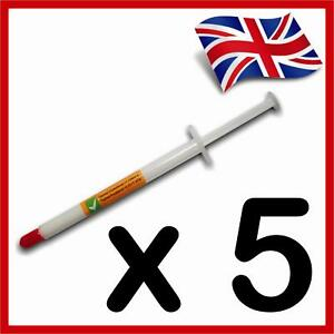 5-x-Thermal-Compound-Grease-Paste-CPU-Heatsink-RROD