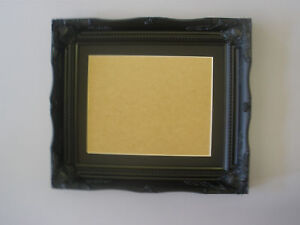Black-shabby-24x20-inch-picture-frame-Black-mount