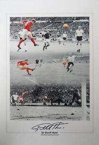 GEOFF-HURST-Signed-20x14-Montage-Photo-1966-WORLD-CUP-WINNER-COA