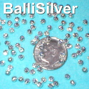 10-Sterling-Silver-LASER-CUT-Textured-3mm-Round-BEADS