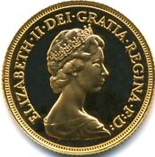 Gold Proof Half Sovereign