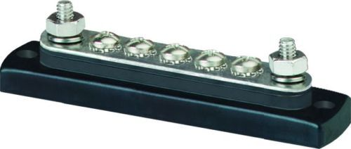 Blue Sea 2304 MiniBus 100 Ampere Common Bus Bar 5 x 4mm Marine Solar 4x4 Caravan