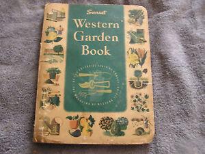 sunset western garden book 1955 first ed 3rd printing