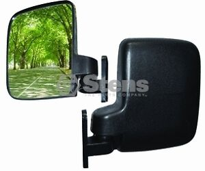SIDE-MIRRORS-Universal-Fit-Golf-Carts-and-UTV-Rangers