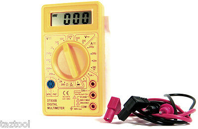 Digital OHM DC AC Voltage Current Tester ...