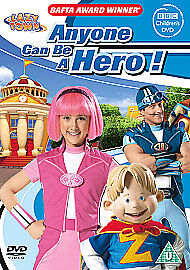 LazyTown - Anyone Can Be a Hero [DVD]  - Brand New & Sealed