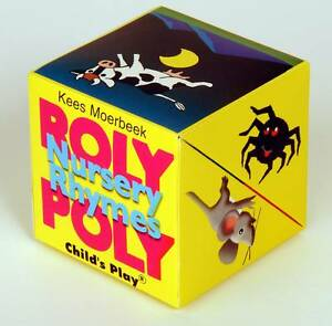Nursery-Rhymes-Roly-Poly-Box-Books-Moerbeek-Kees-New-Condition