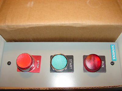 *NEW* Siemens Push Button Station Switch Control 22 MM Siemens Push Button