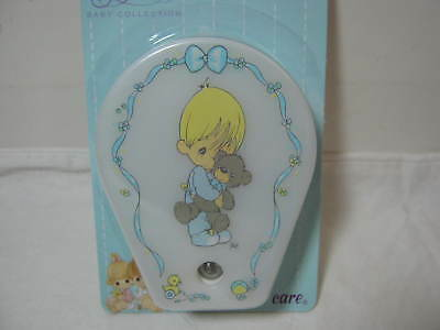 Luv N' Care Precious Moments Night Light Boy With Bear Nip