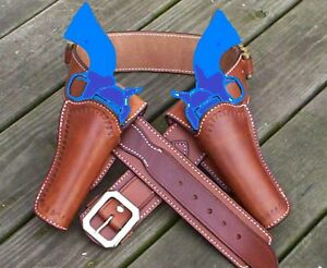 Cowboy-Western-Holster-Rig-the-Quickdraw-Shooter-FREE-SHIPPING
