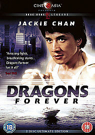 Dragons Forever (DVD, 2011) ** BRAND NEW ** jackie chan,cine asia