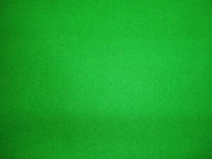 GREEN-6x3-WOOL-QUALITY-POOL-TABLE-CLOTH-BED-CUSHIONS