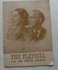 Vintage-Playbill-For-O-Mistress-Mine-46-Alfred-Lunt