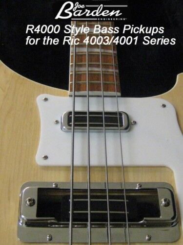 Jbe Pickups R4000 Pickup Set Rickenbacker 4003/4001 Bass Made In Usa