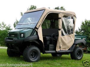 FULL-CAB-ENCLOSURE-Tinted-LEXAN-WS-Kawasaki-Mule-TRANS-3000-3010-4000-4010