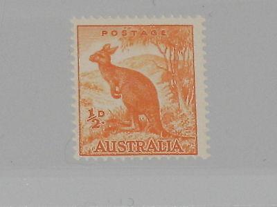 AUSTRALIA AUSTRALIEN 1937 137 A 166 Kangaroo Fauna Känguru Faune Tiere MNH