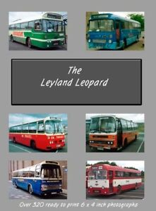 Leyland Leopard Bus Photo CD 320+ photos