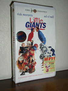Little-Giants-with-Moranis-ONeil-VHS-NEW-ClamShell