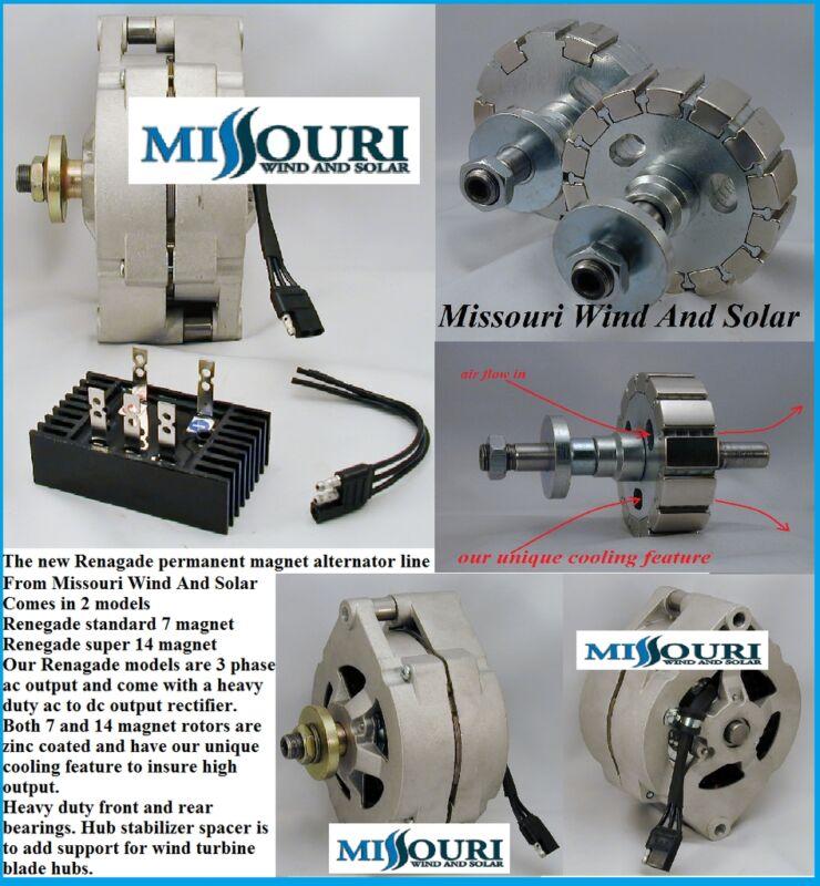 12 Volt Permanent Magnet Alternator Stator Core 4 Pma Fits