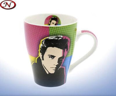 Elvis Presley Mug Tasse 320ml Pop Art Collector