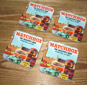 Matchbox-Juguetes-Bebidas-Posavasos-Set