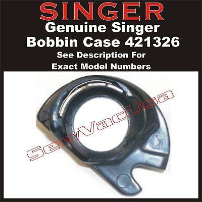 Genuine Singer Sewing Machine Bobbin Case Apollo 421326