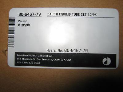 Case Of 12 Amersham Pharmacia Biotech 80-6467-79 Equilibration Tubes