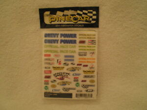 Pine-Car-Pinewood-Derby-DECALS-STOCK-CAR-P317