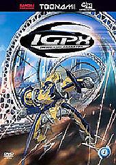 IGPX-Volume-1-DVD-Episodes-01-04-Sealed-Toonami-Ver
