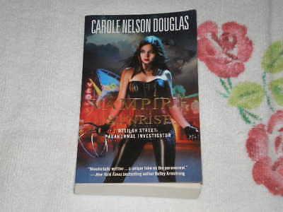 Vampire Sunrise By Carole N. Douglas Signed