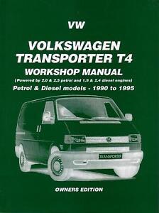 NEW-WORKSHOP-REPAIR-MANUAL-VW-KOMBI-VAN-TRANSPORTER-T4