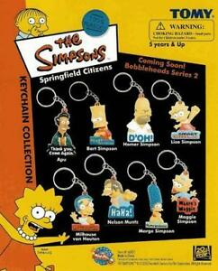 8-NEW-SIMPSONS-DIE-CUT-KEYCHAINS-BACKPACK-ZIPPER-PULLS