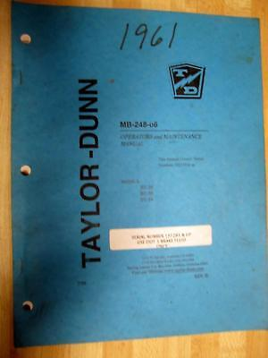 Taylor Dunn Mb-248-06 Manual Mb24806