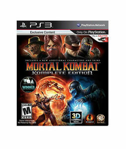 MORTAL-KOMBAT-KOMPLETE-EDITION-Playstation-3-2012-Bonus-Brand-New